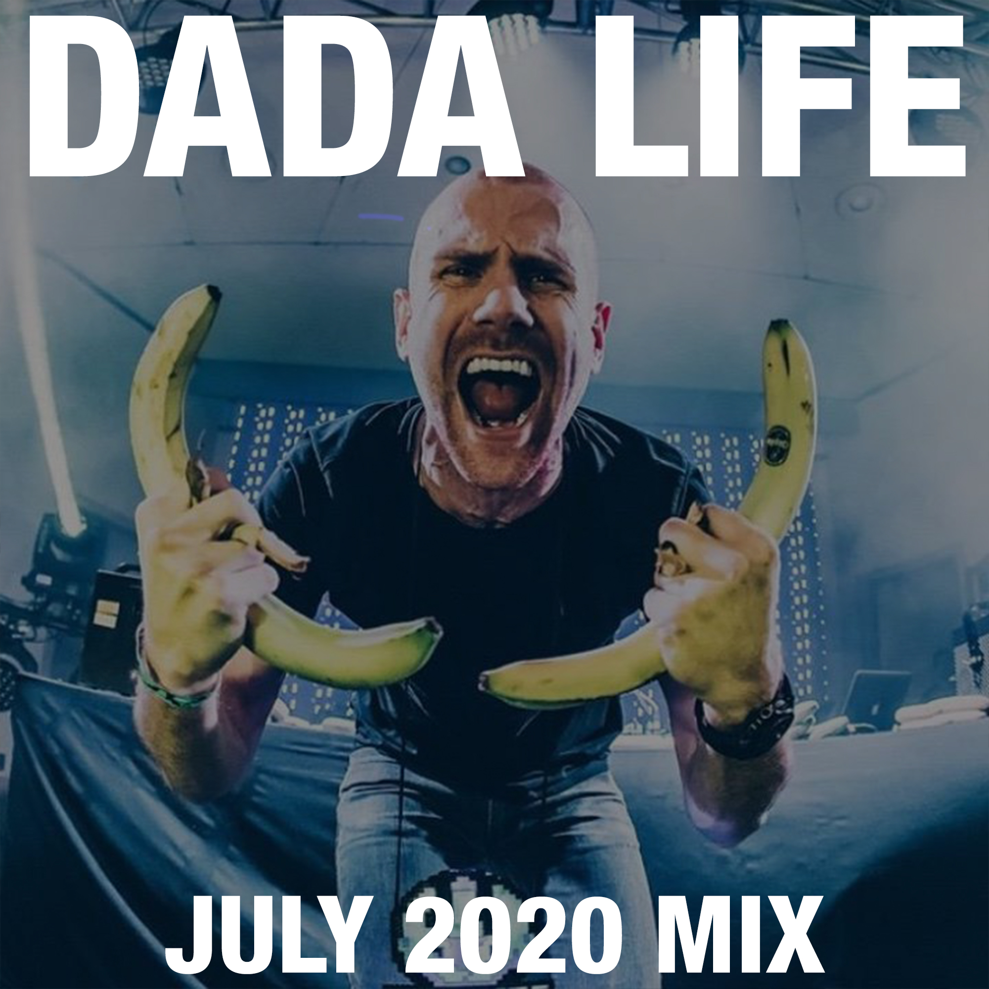 Dada Land July 2020 Mix show art