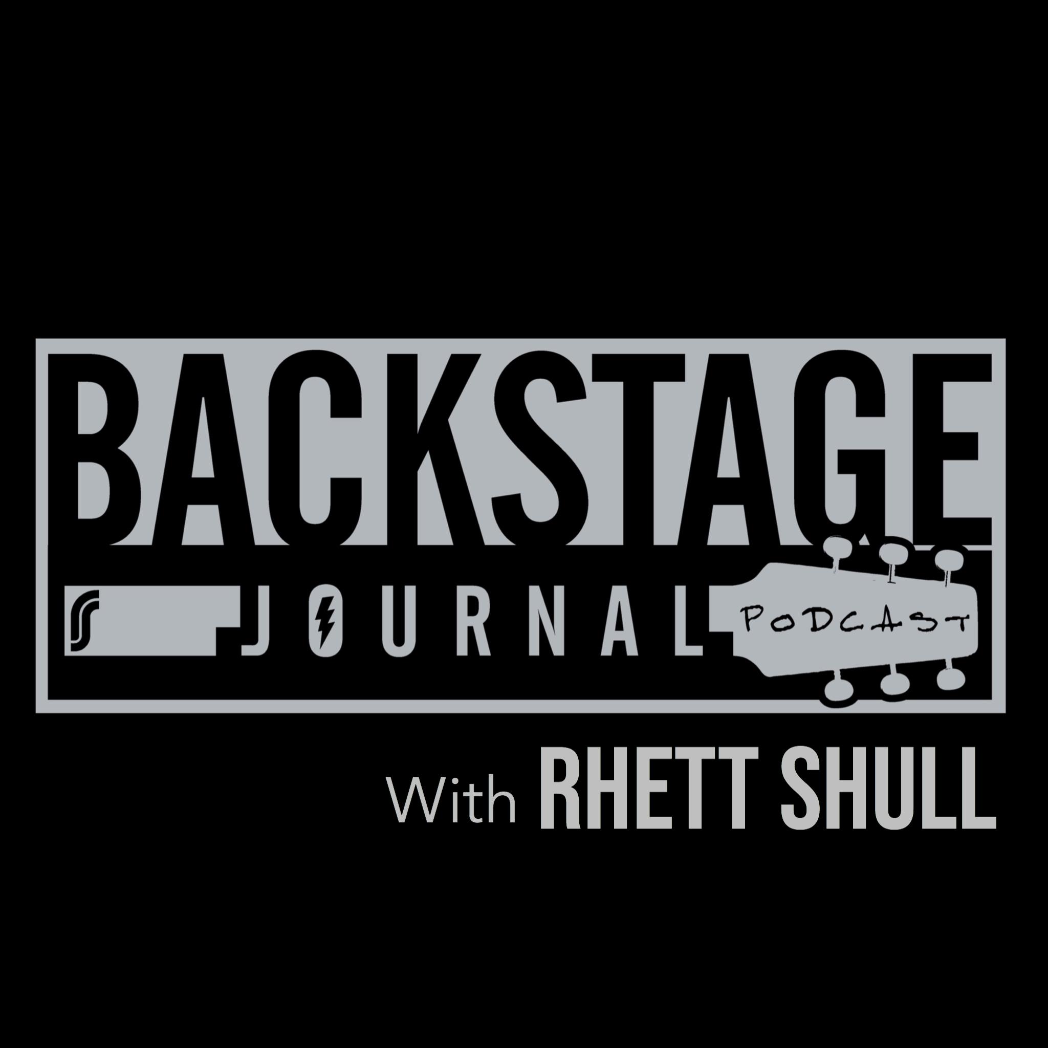 Backstage Journal Podcast with Rhett Shull show art