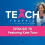 Artwork for 70 - How To DIY Your SEO With Kate Toon