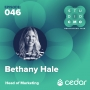 Artwork for 046 | The Genuine Power of a HealthTech Brand with Bethany Hale of Cedar | Studio CMO
