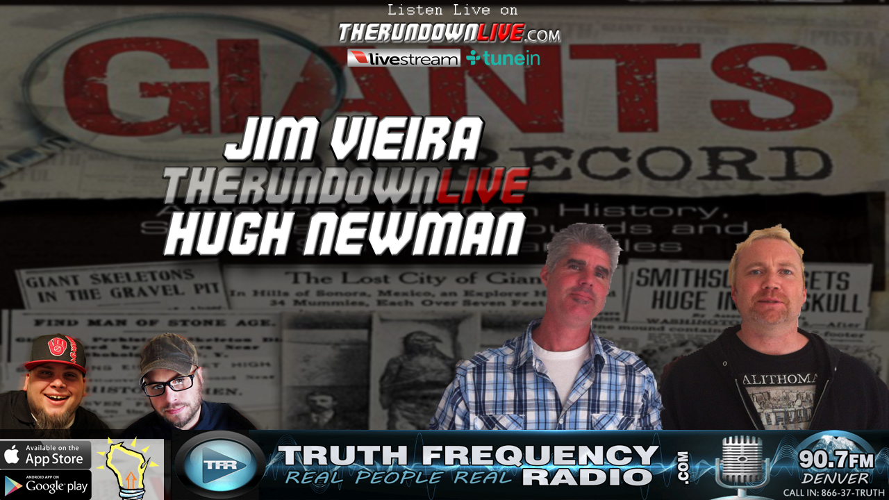 The Rundown Live #560 Jim Vieira & Hugh Newman (Giants on Record,Mounds)