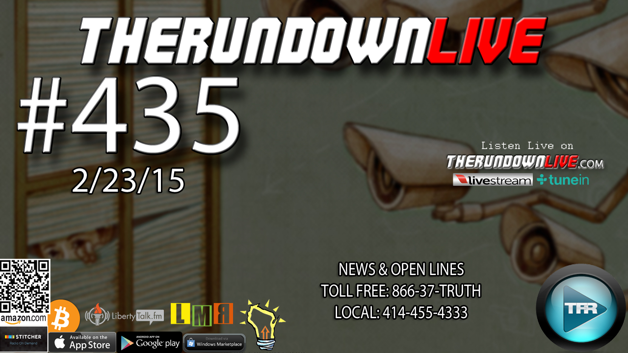 The Rundown Live #435 Open Lines (CitizenFour,NSA Spying,Ancient Giant?)