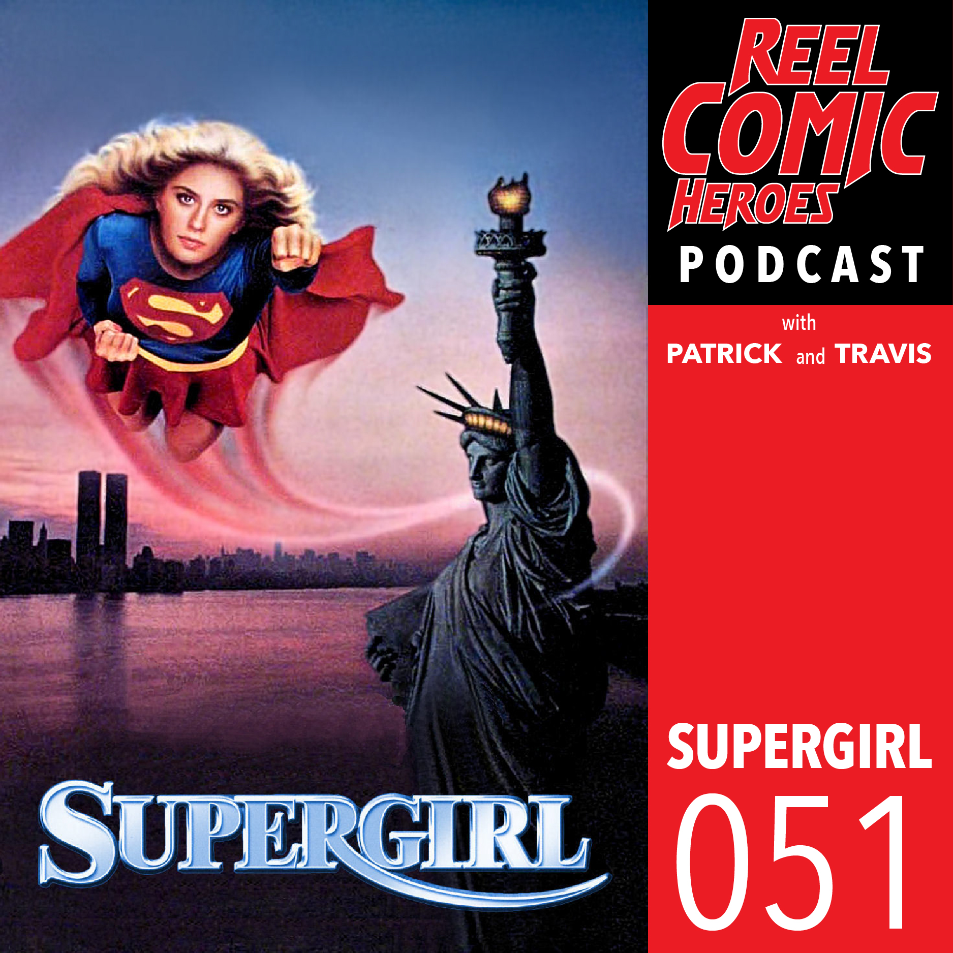 Artwork for Reel Comic Heroes 051 - Supergirl