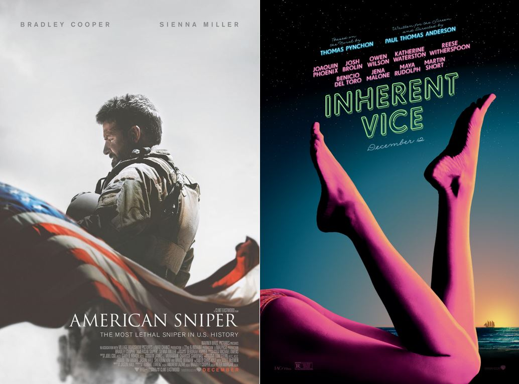 American Sniper / Inherent Vice