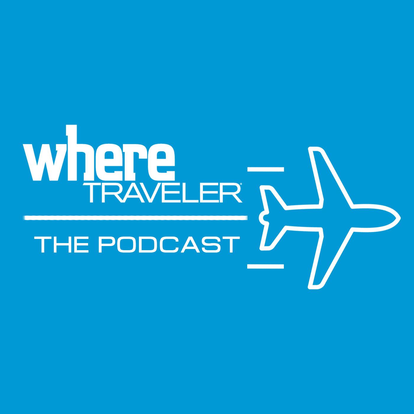 WhereTraveler Podcast show art