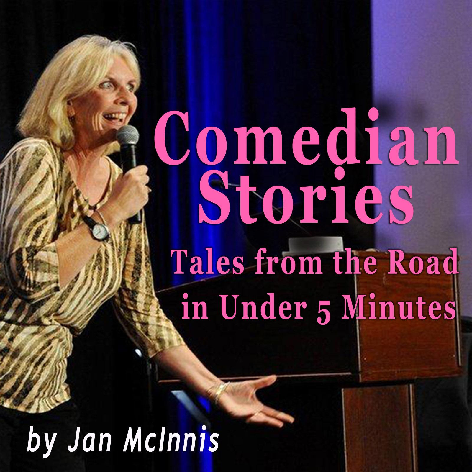 Comedian Stories show art