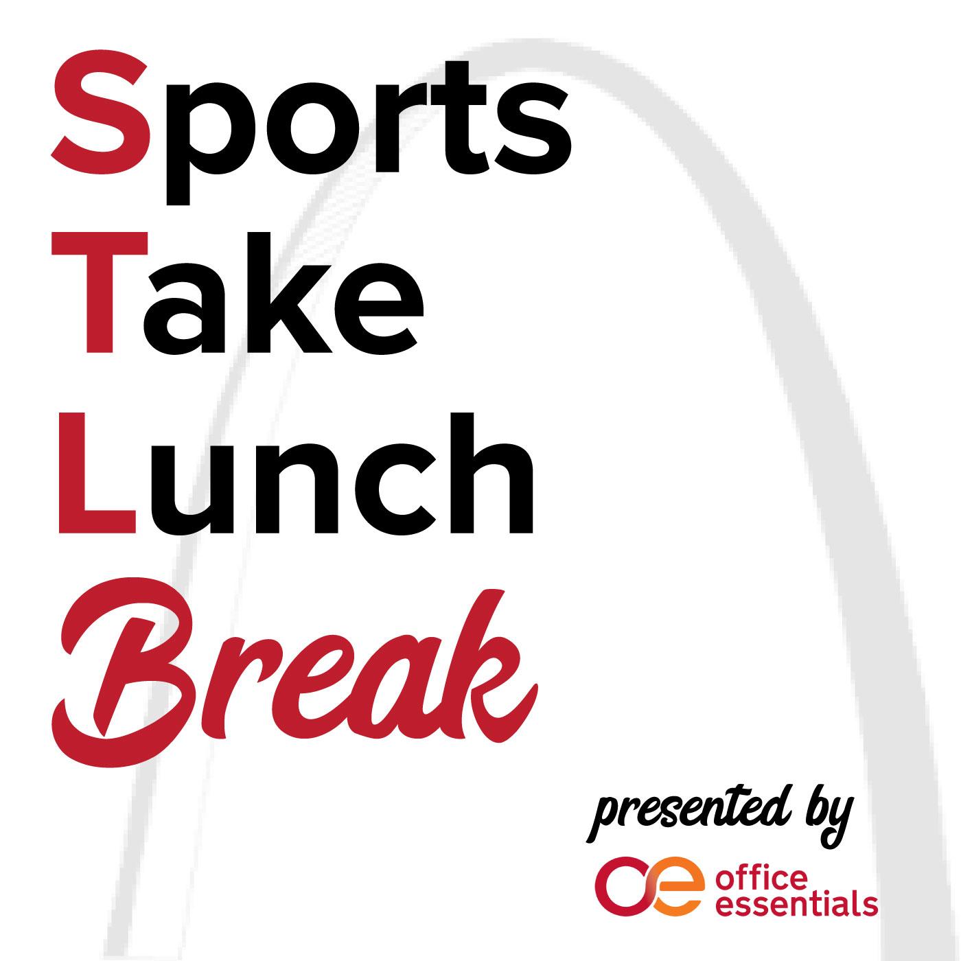 STL Sports Take Lunch Break show art