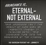 Artwork for Abundance taps into the eternal- not just the external- #41