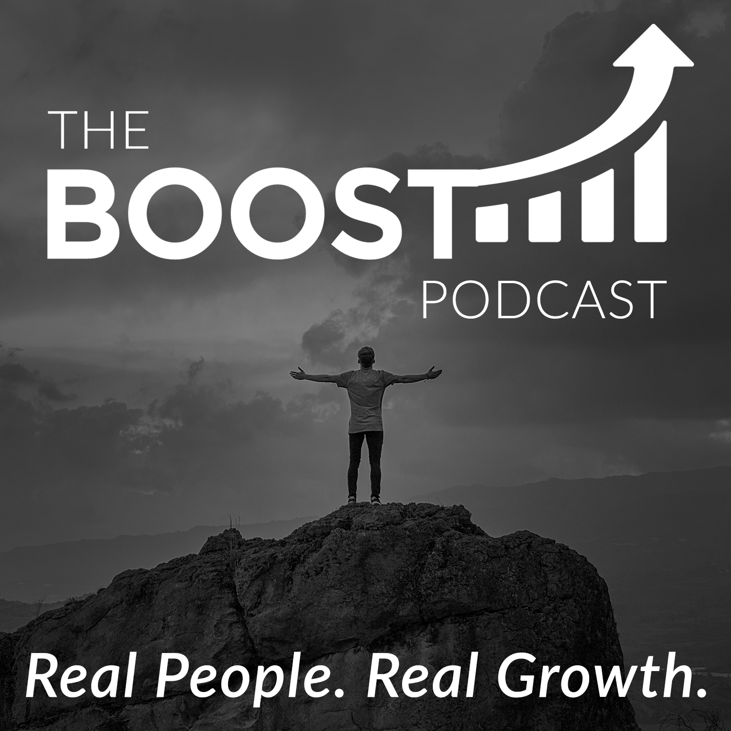The BOOST Podcast: Inspiring Stories of Professional and Personal Growth from Entrepreneurs, Athletes and Healthcare Pros show art