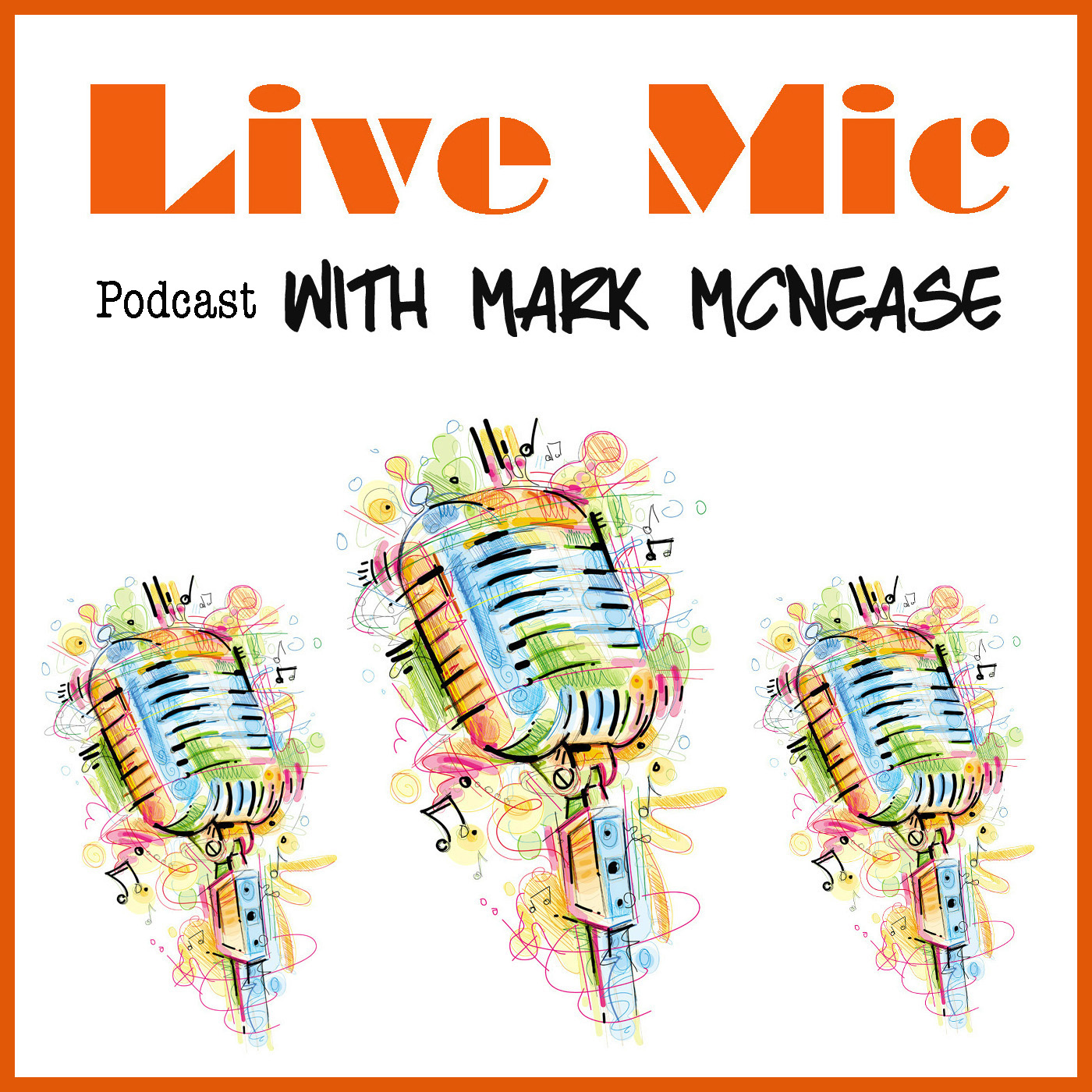 Live Mic with Mark McNease logo