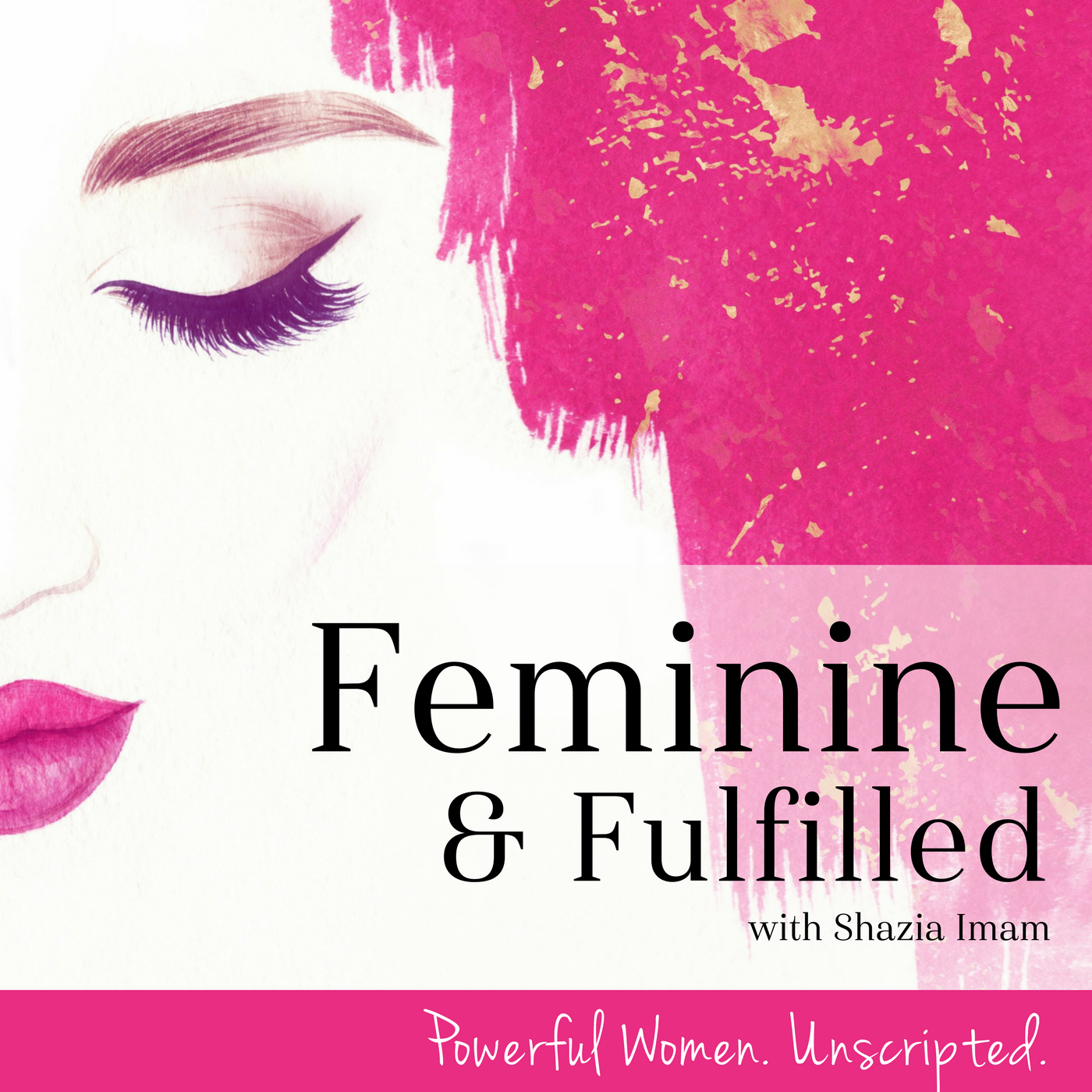 Feminine & Fulfilled show art