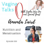 Artwork for 006: Nutrition and Menstruation with Amanda Laird