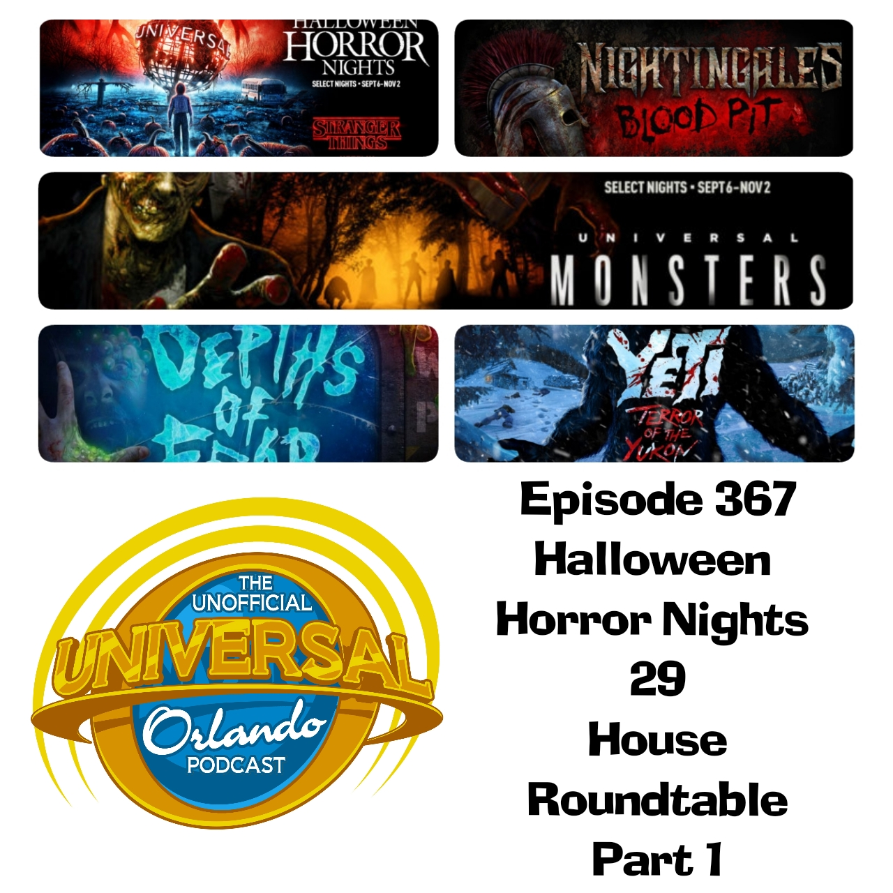 Halloween Horror Nights 2019 Poster.Unofficial Universal Orlando Podcast 2019