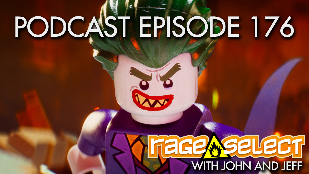 Rage Select Podcast Episode 176 - John and Jeff Answer Your Questions!
