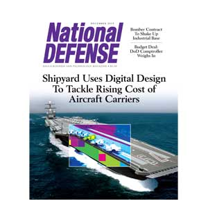 Artwork for Shipyard Uses Digital Design to Tackle Rising Cost of Aircraft Carriers — December 2015