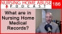Artwork for 186- What are in nursing home medical records?