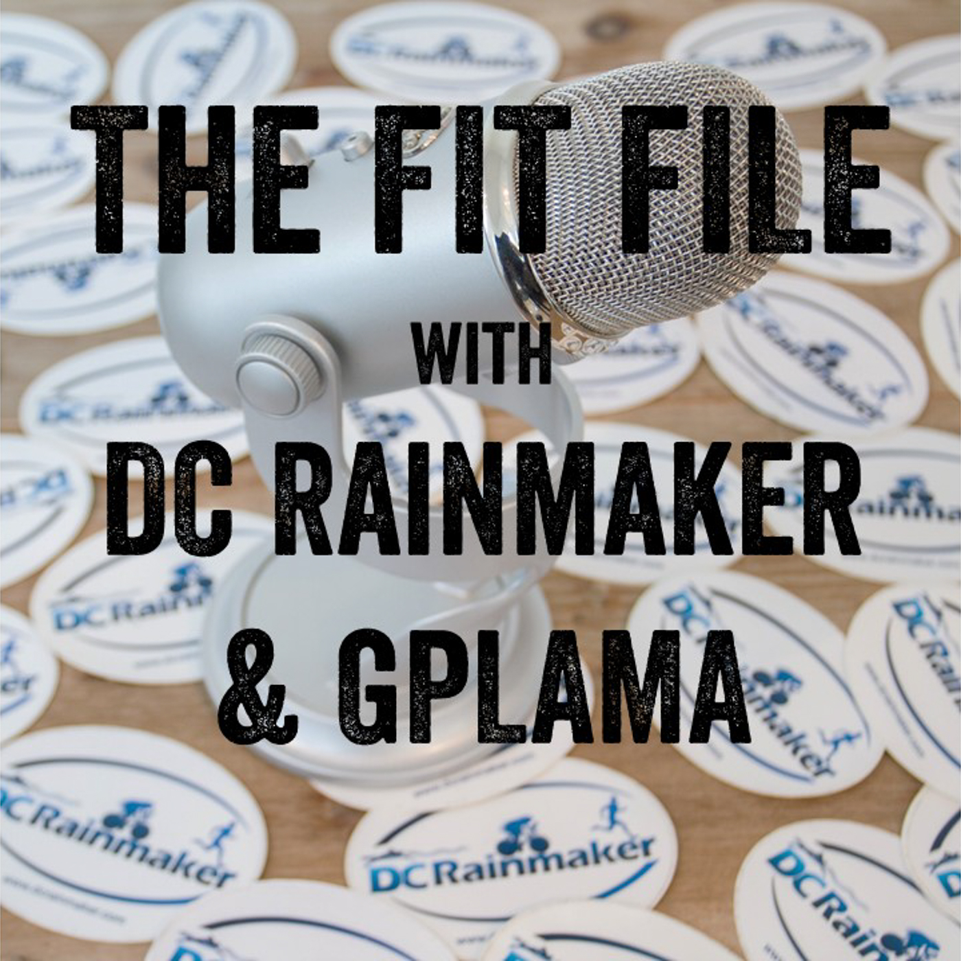 The FIT File with DC Rainmaker and GPLAMA show art