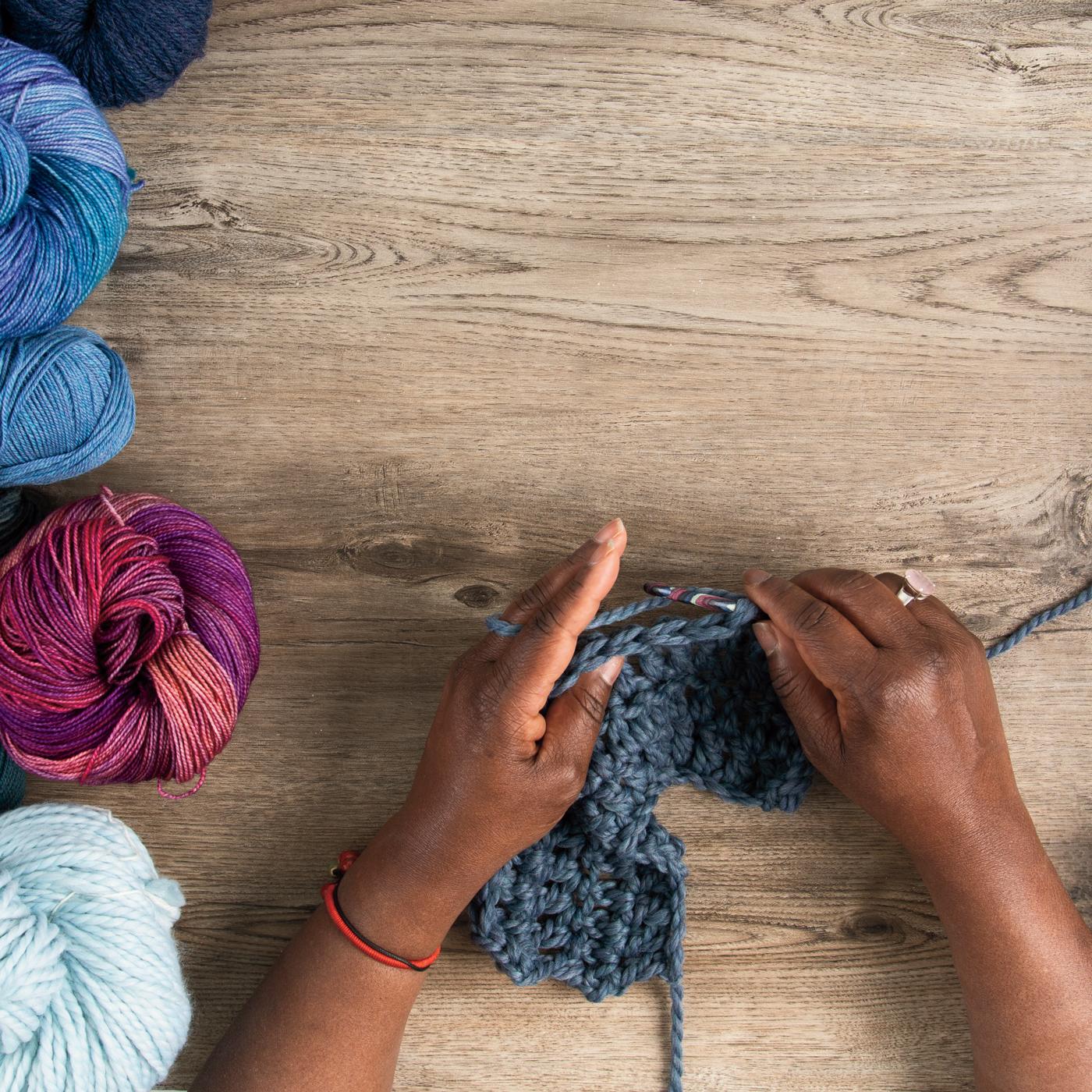Crochet Jobs, Part 3 - Teaching Crochet with Arica Presinal & Pia Thadani
