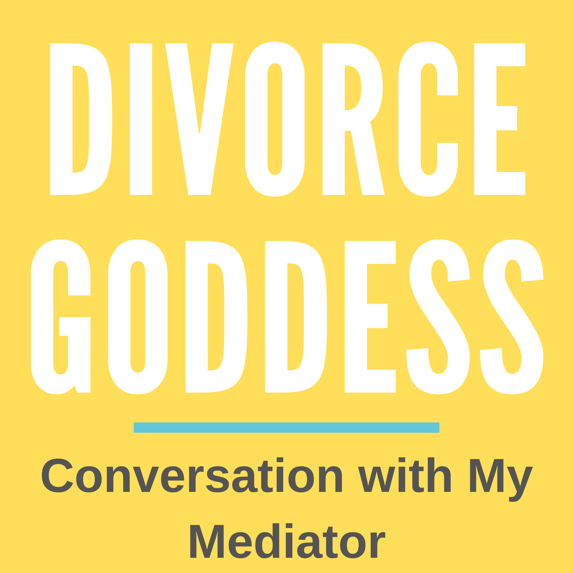 Divorce Goddess Podcast - Conversation With My Mediator & Why Mindfulness in Divorce Helps