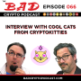 Artwork for Interview with the Cool Cats from CryptoKitties
