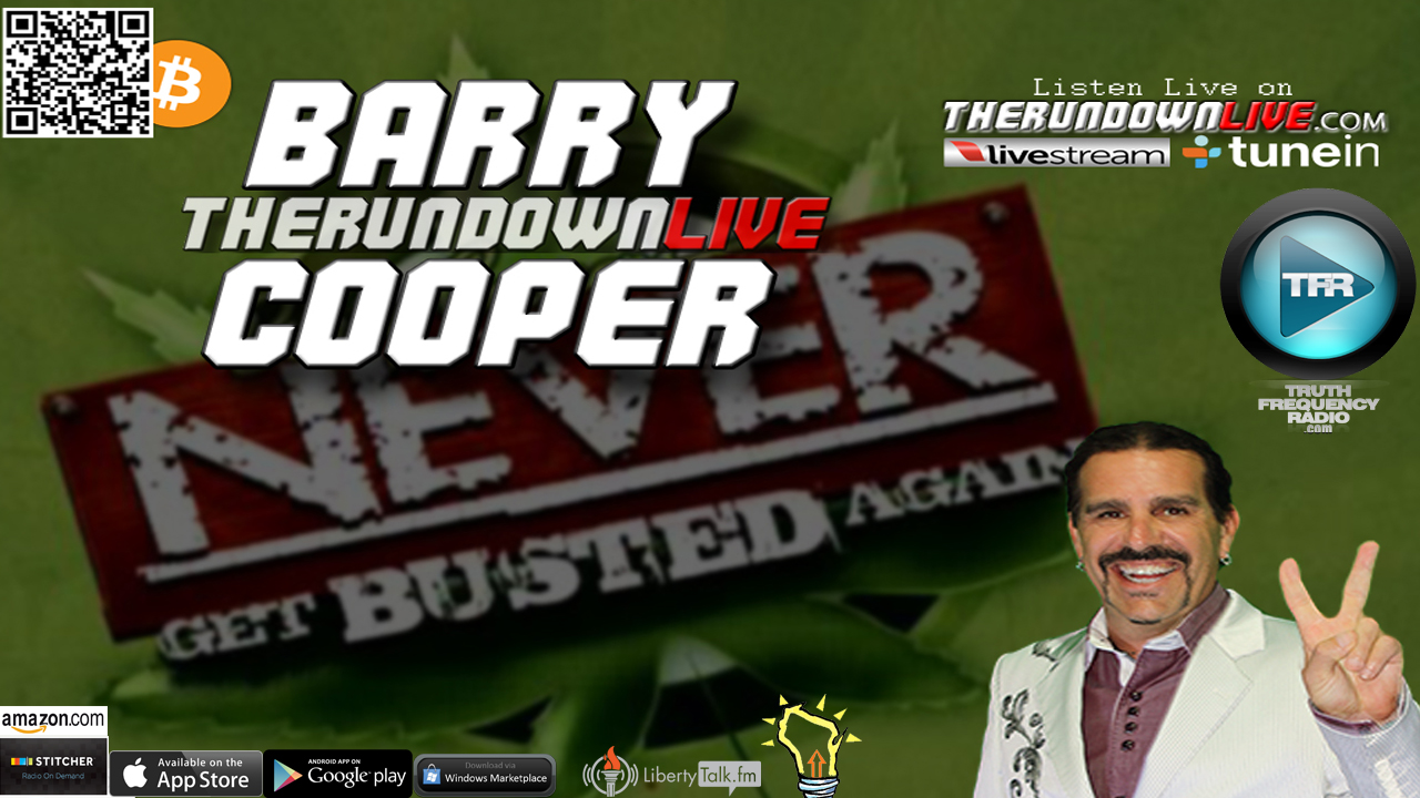 The Rundown Live #487 Barry Cooper (Government,1's & 0's,Anarchy)