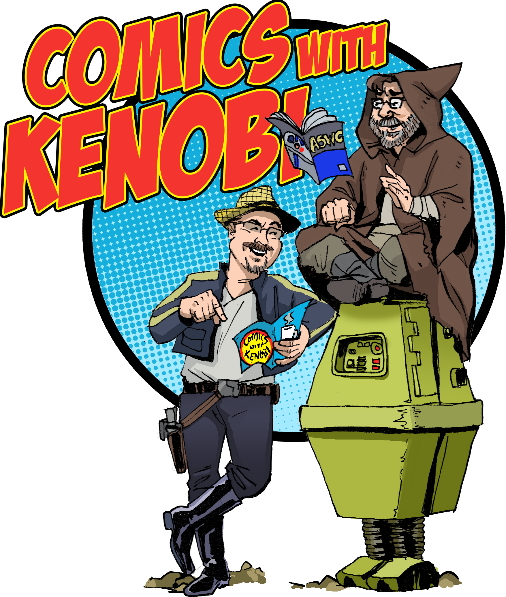 Comics With Kenobi #36 show art