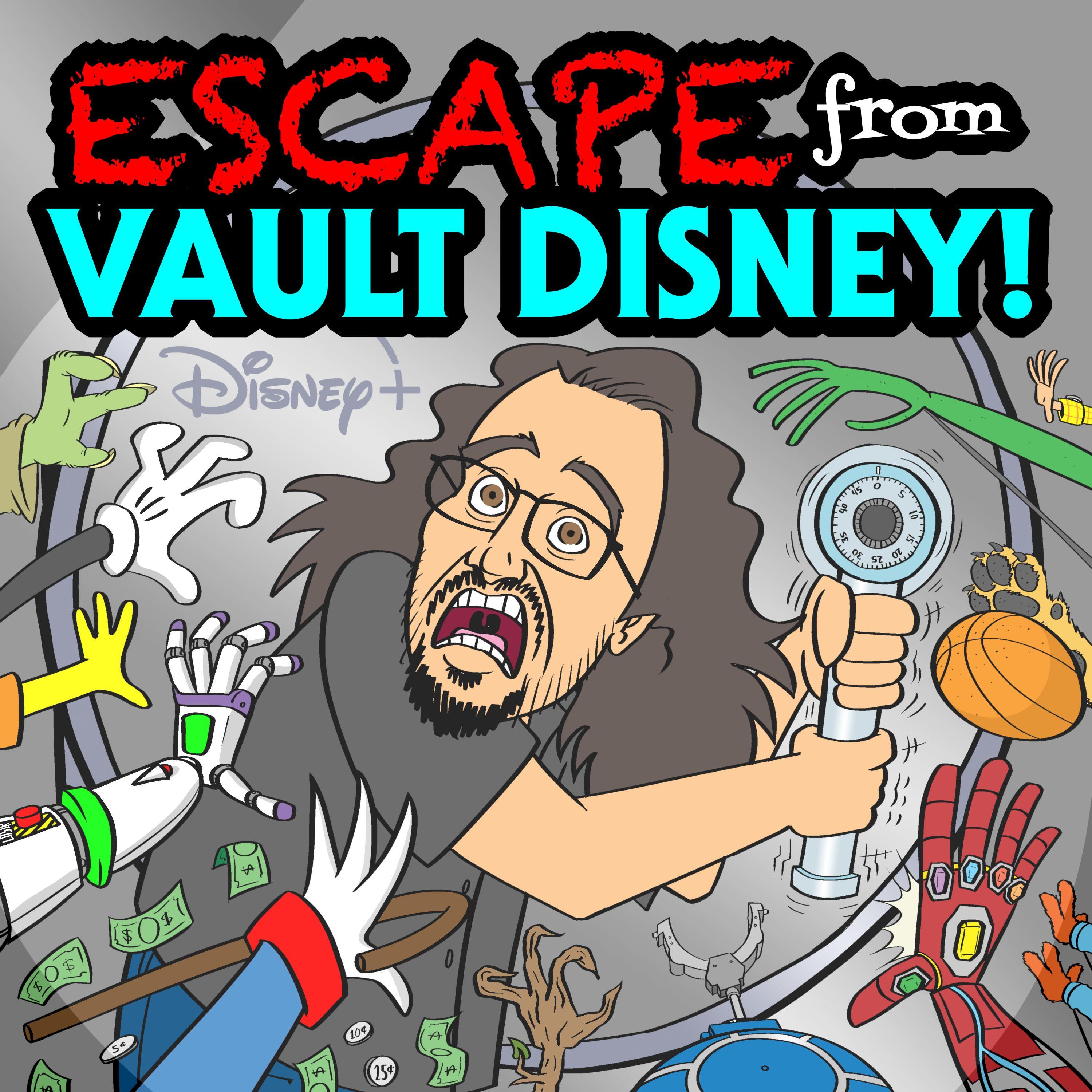 Escape From Vault Disney show art