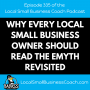 Artwork for Why Every Local Small Business Owner Should Read the eMyth Revisited