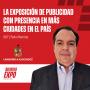 Artwork for E007 La Exposición de Publicidad con presencia en más ciudades en el país, con Pedro Ramírez, de Lamadrid & Asociados