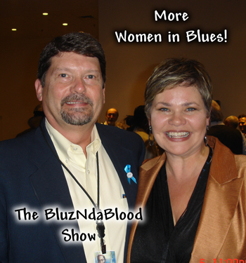 The BluzNdaBlood Show #107, More Women In Blues!