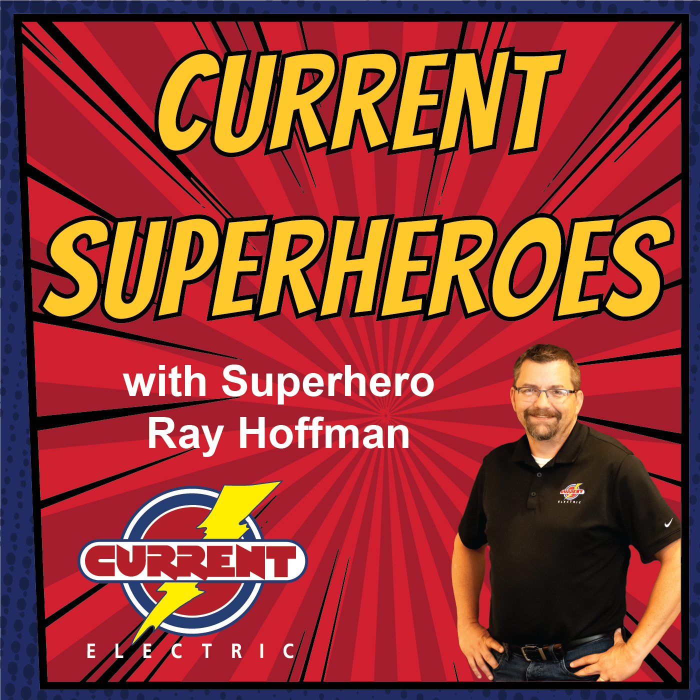 Artwork for Current Superheroes - Intro podcast