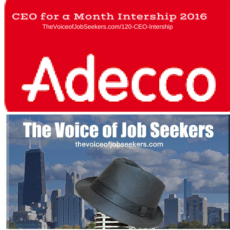 Adecco's CEO for a Month Internship