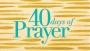 Artwork for 40 Days of Prayer