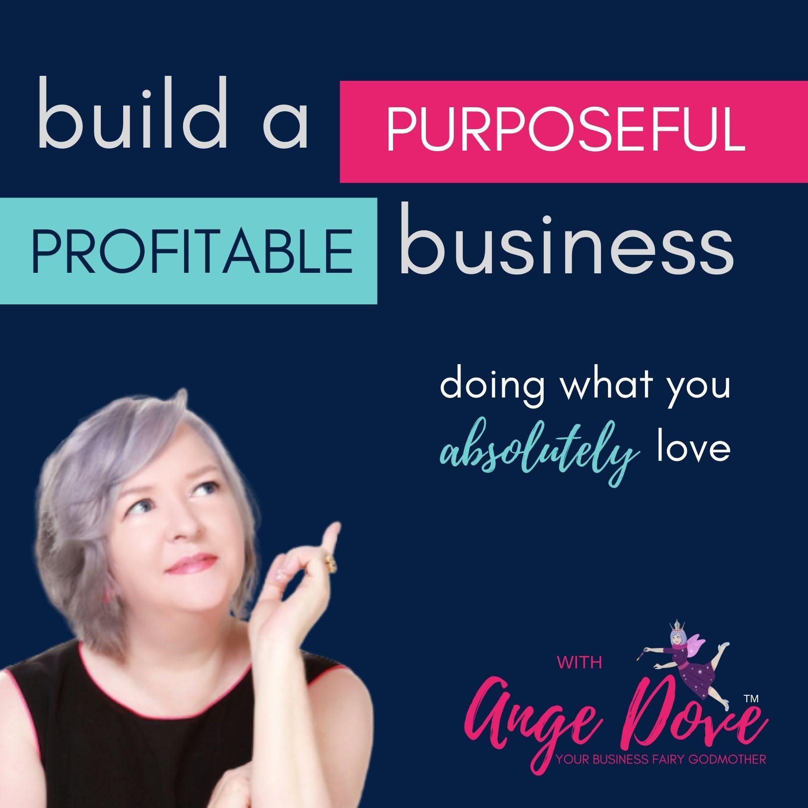 Build a Purposeful Profitable Business show art