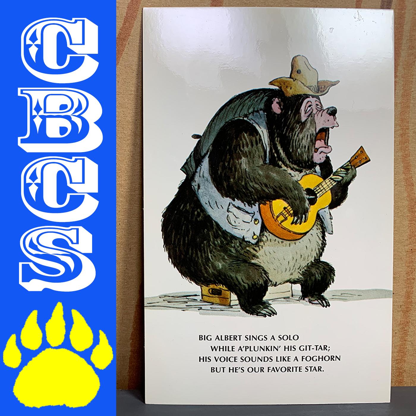 Artwork for Vintage Walt Disney World Big Al Postcard - Country Bear Collector Show #209