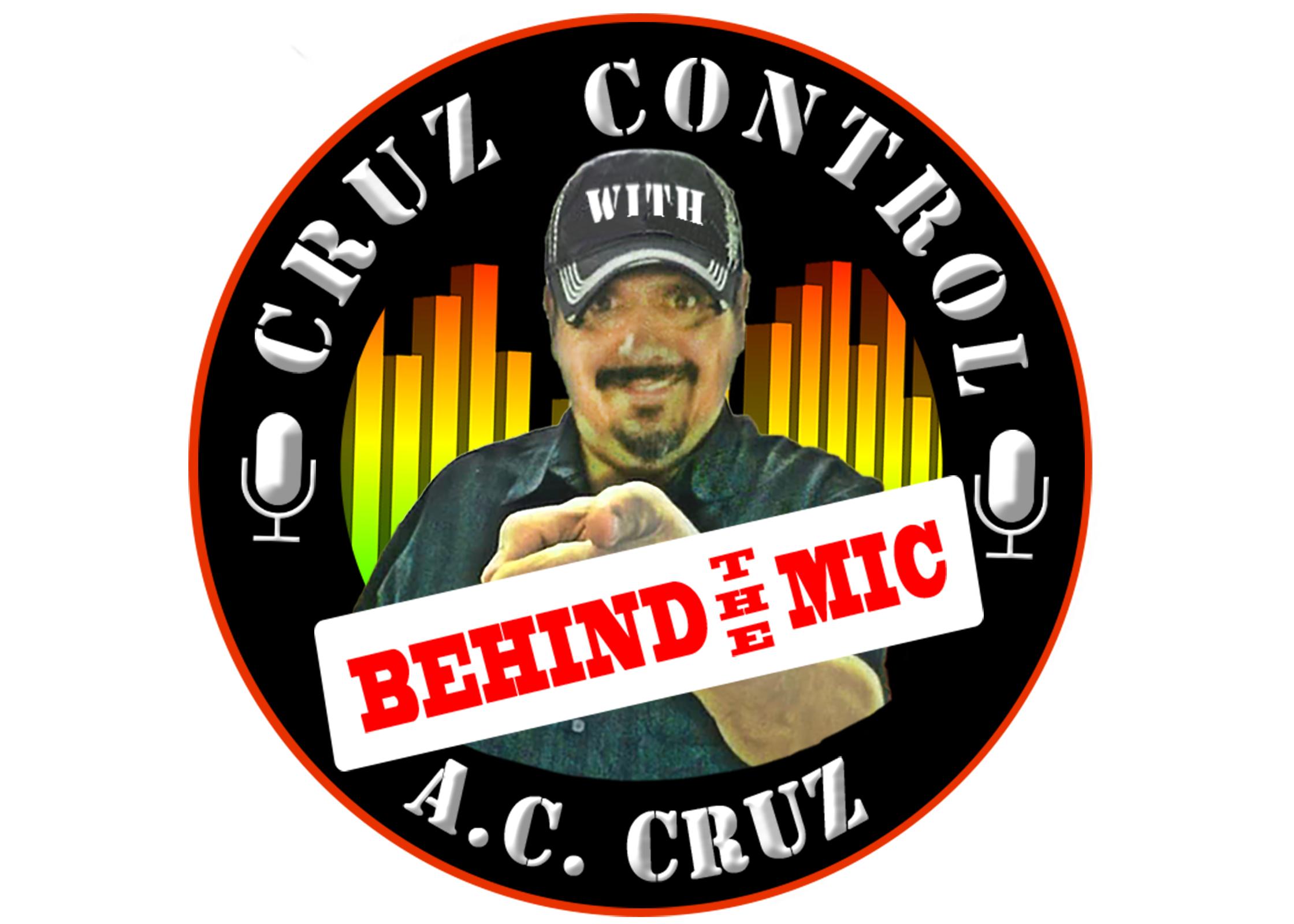 Cruz Control with AC Cruz Behind the Mic show art