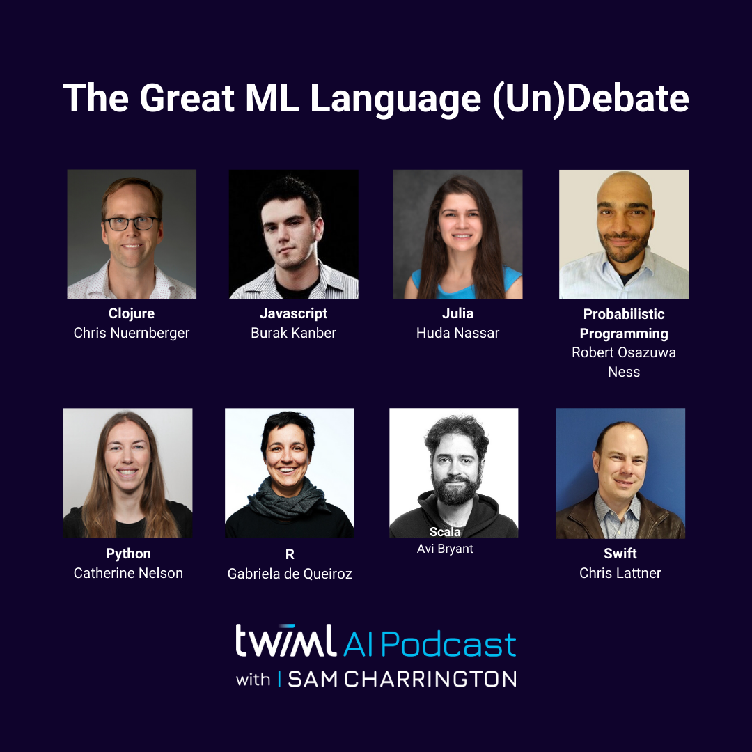 Panel: The Great ML Language (Un)Debate! - #393 show art