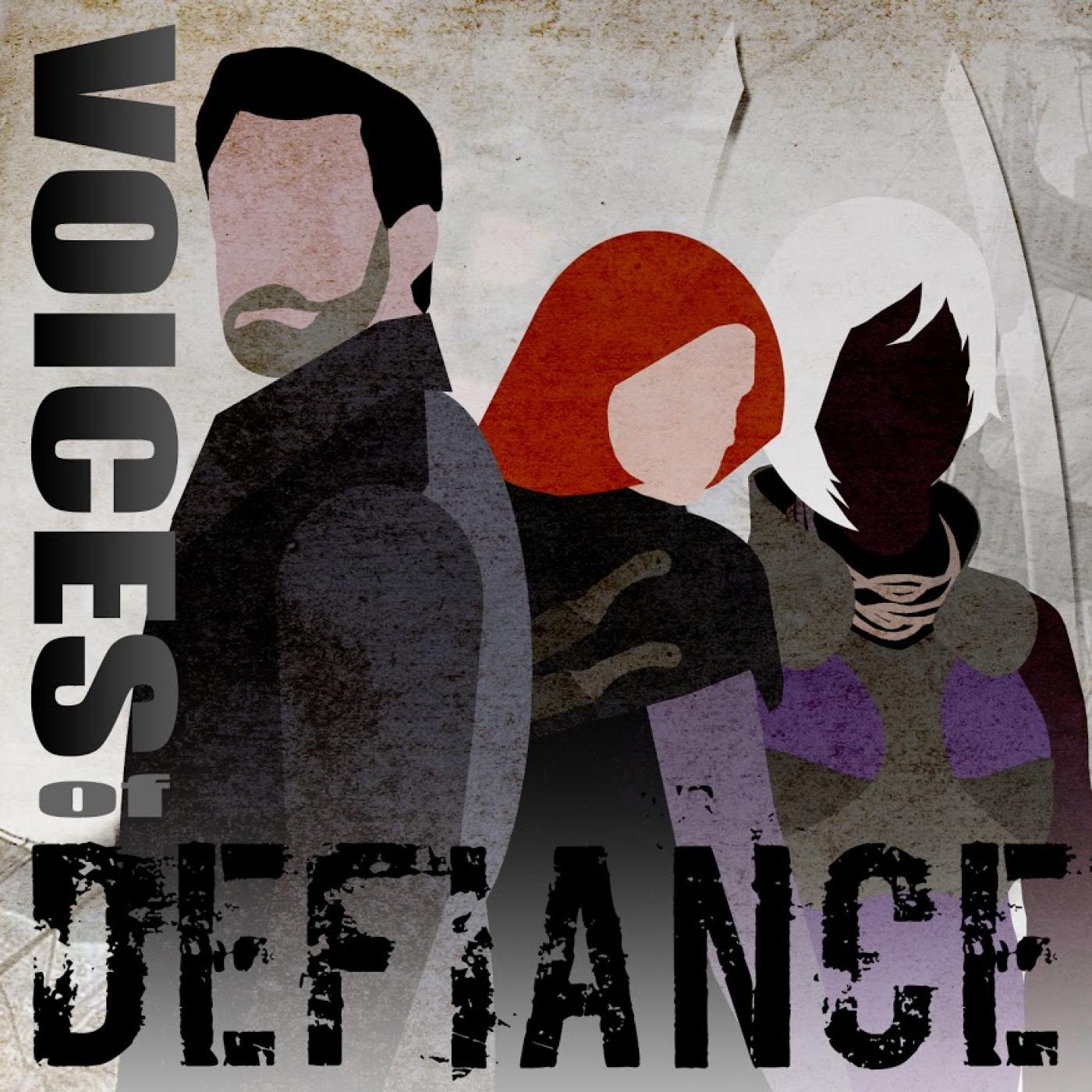 Voices Of Defiance show art