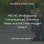 Artwork for Blind Stealing Consequences, Switching Tables and the 3 Poker Advantages | MED #2 Class 4 | #102