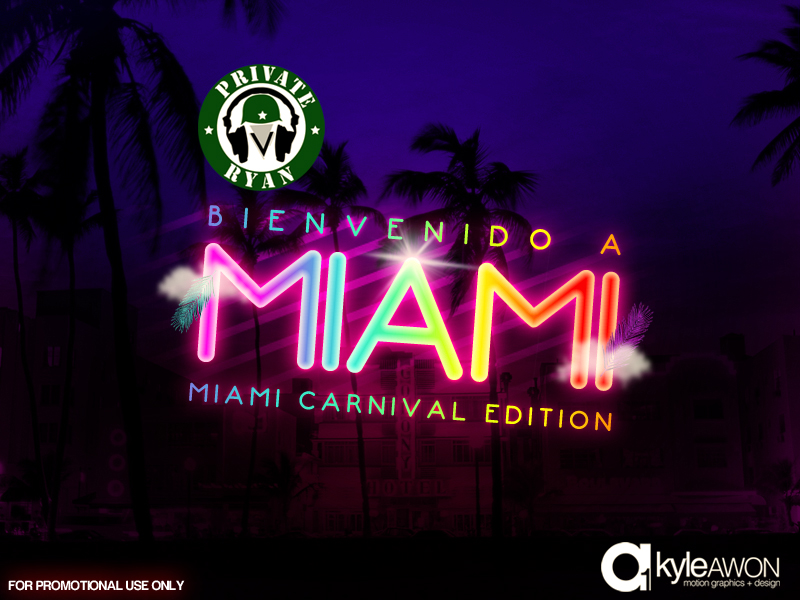 Private Ryan Presents Bienvenido A Miami 2011 Miami Carnival Edition (Hosted by Walshy Fire of Black Chiney)
