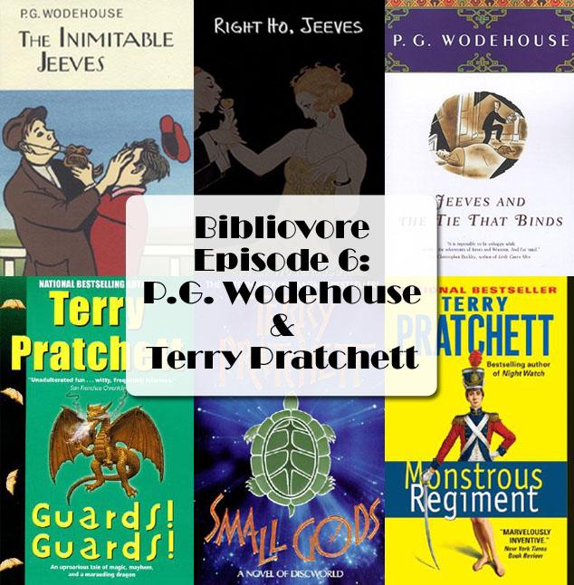 Episode 6 - P.G. Wodehouse and Terry Pratchett