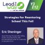 Artwork for Strategies for Reentering School This Fall - Eric Sheninger