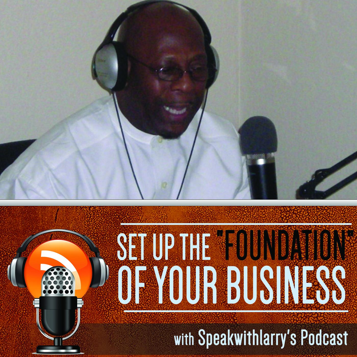 Speakwithlarrys Podcast show art