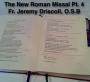 Artwork for MMP #14 - The New Roman Missal #4