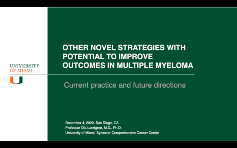 Artwork for Multiple Myeloma   Ola Landgren, MD, PhD