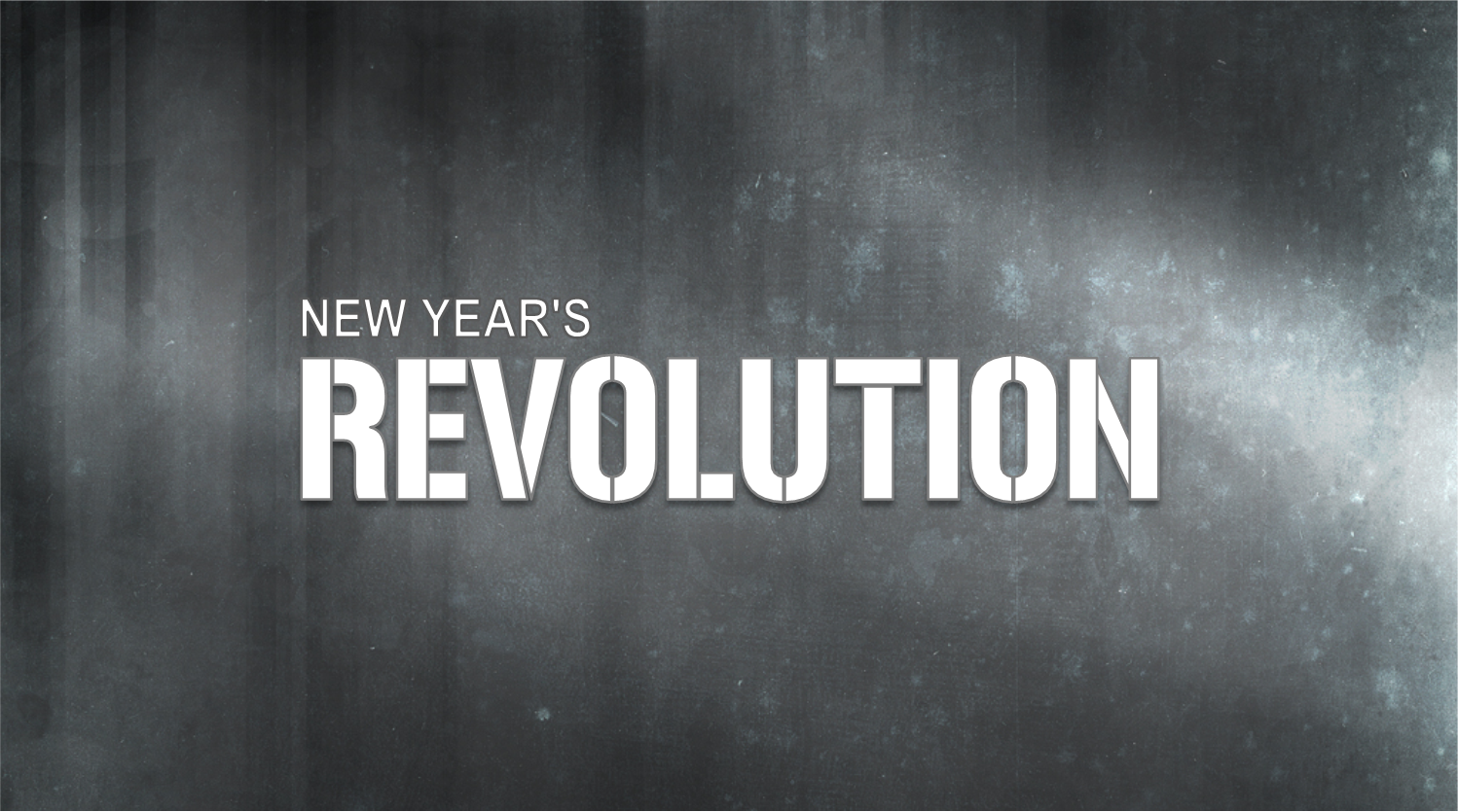 "The Net Sermon ""New Year's Revolution"""