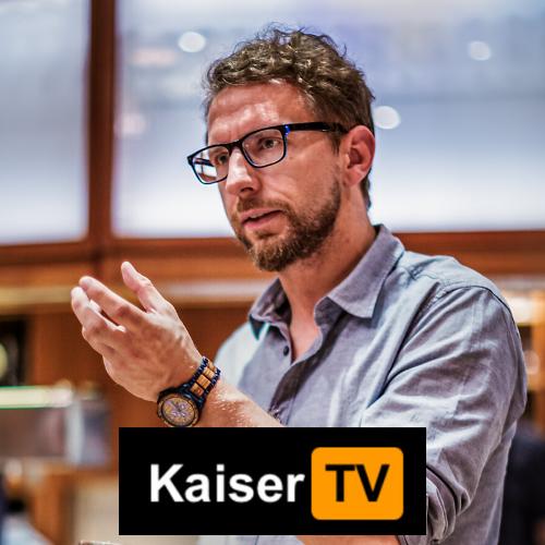 Gunnar Kaiser auf KaiserTV show art