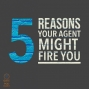 Artwork for 027 Five Reasons Your Book Agent Might Fire You