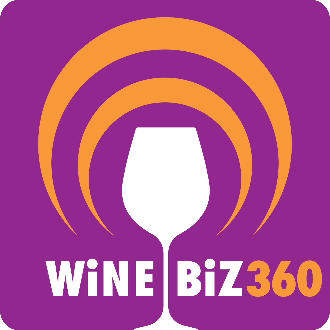 Wine Biz 360 show art