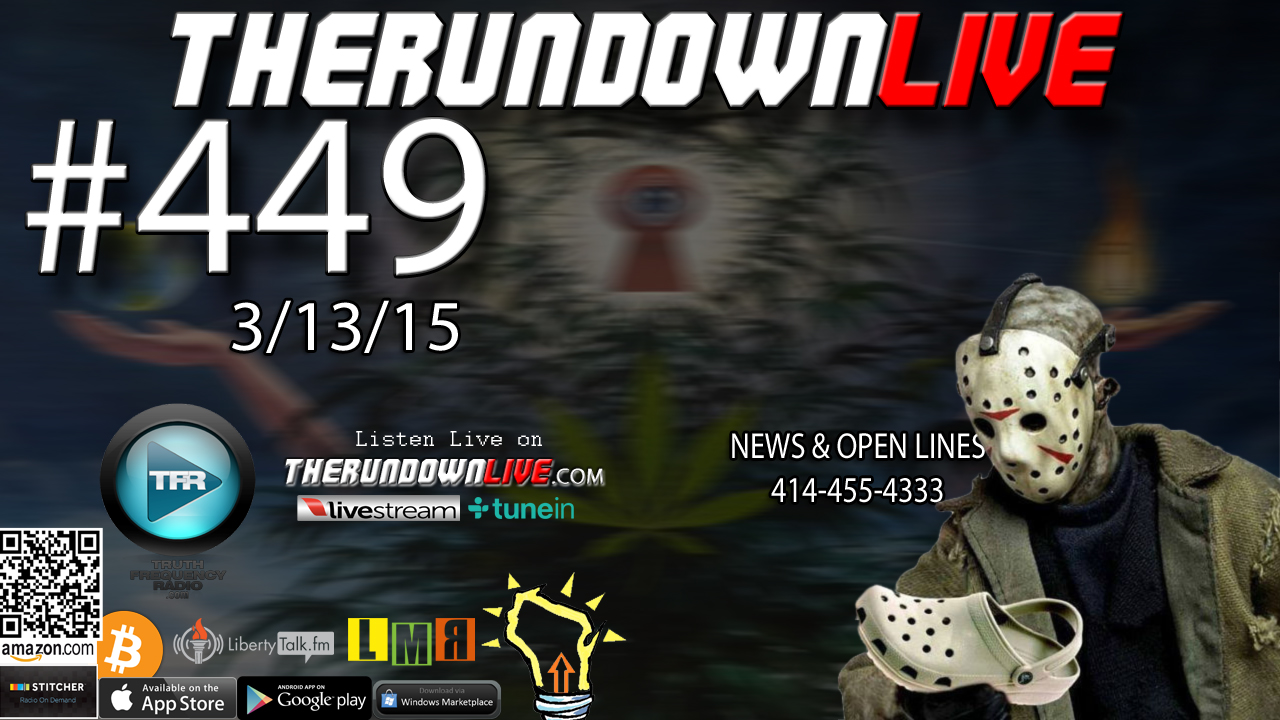 The Rundown Live #449 Open Lines (Liquid Robots,FakeNewsSites,WakingUpWisconsin)